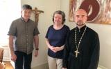Клирик Корсунской епархии встретился с администрацией старокатолической общины в швейцарском городе Биль