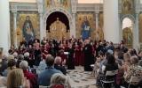В Троицком кафедральном соборе состоялся 50-й юбилейный концерт парижской Ассоциации православных литургических песнопений