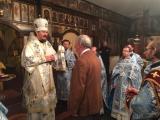 В праздник Иверской иконы Божией Матери Управляющий Корсунской епархией совершил Божественную Литургию