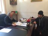 Состоялась встреча епископа Нестора с Предстоятелем Украинской Православной Церкви
