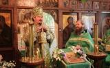 В день Святого Духа епископ Нестор возглавил престольные торжества домового храма особняка Бердяева в Кламаре