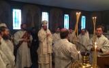 В Рождественский сочельник епископ Нестор совершил Божественную литургию в храме Трех Святителей в Париже