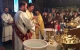 В Навечерие праздника Богоявления епископ Нестор совершил Литургию и чин великого освящения воды в Трехсвятительском храме в Париже