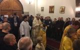 Управляющий Корсунской епархией совершил Всенощное бдение в Серафимовском храме в Монжероне
