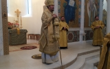 Епископ Нестор совершил Божественную литургию в Троицком кафедральном соборе в Париже