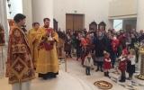В праздник Собора новомучеников и исповедников Церкви Русской епископ Нестор совершил Божественную литургию в Троицком кафедральном соборе
