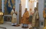 Иерархи Русской Православной Церкви совершили Божественную литургию в Троицком соборе в Париже