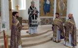 Епископ Нестор совершил Литургию Преждеосвященных Даров в Троицком кафедральном храме
