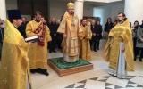 В неделю Торжества Православия епископ Нестор совершил Литургию в Троицком кафедральном соборе в Париже