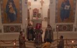 В канун недели Крестопоклонной епископ Нестор совершил Всенощное бдение в Троицком соборе в Париже