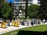 Епископ Нестор возглавил торжества по случаю малого престольного праздника Никольского собора г.Ницца