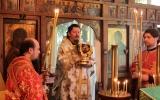 Епископ Нестор совершил Литургию в часовне в честь Святого Духа в Кламаре
