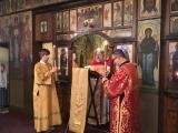 Митрополит Виленский Иннокентий совершил Божественную литургию в Трехсвятительском кафедральном храме в Париже