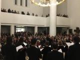 Московский Синодальный хор выступил с большим успехом в Духовно-культурном центре в Париже
