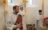 В навечерие Рождества Христова епископ Нестор совершил Божественную литургию в Троицком кафедральном соборе в Париже