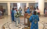 В канун праздника Рождества Богородицы всенощное бдение в Троицком кафедральном соборе совершил епископ Душанбинский Питирим