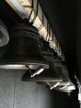На колокольне нового кафедрального собора в Париже установлены колокола