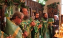 В день Святого Духа в домовом храме в особняке Бердяева состоялась праздничная Литургия
