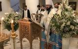 Митрополит Корсунский и Западноевропейский Антоний совершил уставные богослужения Навечерия Рождества Христова