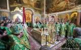 В день своего тезоименитства епископ Нестор принял участие в праздновании 400-летия Киевских духовных школ