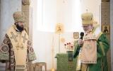 Патриарший экзарх Западной Европы и глава Архиепископии западноевропейских приходов русской традиции совершили Божественную литургию в Троицком кафедральном соборе в Париже
