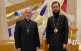 Митрополит Антоний встретился с Апостольским нунцием во Франции