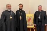 Митрополит Антоний встретился с католическим архиепископом Монако