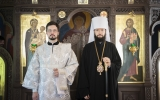 Митрополит Антоний совершил диаконскую хиротонию монаха Иринея (Грибова)