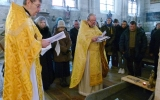 Прихожане православных храмов Парижа совершили паломничество к мощам Иоанна Крестителя в Сэнтин