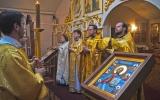 Заместитель председателя ОВЦС МП и секретарь Корсунской епархии молились на приходе Всех Святых и посетели строительную площадку храма в Страсбурге
