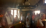 Управляющий Корсунской епархией совершил Божественную литургию в Стефановском приходе в Везле