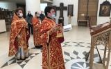 В день памяти святых Кирилла и Мефодия в Троицком кафедральном соборе была совершена Божественная литургия