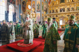 Митрополит Антоний принял участие в Патриаршей литургии