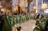 В день памяти прп. Сергия Радонежского митрополит Антоний сослужил Святейшему Патриарху Кириллу в Троице-Сергиевой лавре