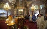Глава Архиепископии приходов русской традиции и Патриарший экзарх Западной Европы совершили Божественную литургию в Александро-Невском соборе в Париже