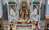 Патриарший экзарх возглавил престольные торжества храма в честь Всех святых в Страсбурге