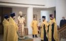 Патриарший экзарх совершил всенощное бдение в Троицком соборе в Париже