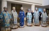 В праздник Введения Пресвятой Богородицы во Храм архиереи Западноевропейского Экзархата совершили Божественную литургию в Свято-Троицком соборе в Париже