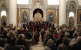 Большой архиерейский хор Троицкого кафедрального  собора выступил с рождественским концертом