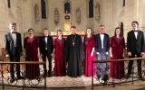 Хор Свято-Троицкого кафедрального собора выступил с рождественским концертом в Корнийе-ле-Кав