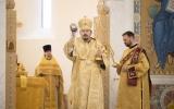 Епископ Корсунский Нестор совершил Божественную литургию в Троицком кафедральном соборе