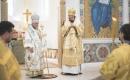 Архиепископ Бакинский Александр и епископ Нестор совершили Божественную литургию в Троицком кафедральном соборе в Париже