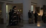 В понедельник первой седмицы Великого поста епископ Нестор совершил повечерие с чтением покаянного канона в Троицком соборе в Париже