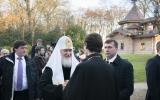 Предстоятель Русской Церкви посетил Духовно-образовательный центр имени преподобной Женевьевы Парижской