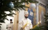 Митрополит Антоний совершил уставные богослужения Навечерия Рождества Христова в Троицком кафедральном соборе г. Парижа