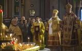 Архиепископ Хариупольский Иоанн и епископ Корсунский Нестор совершили заупокойную Литургию в память о жертвах Октябрьской революции