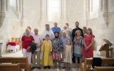 В храме в честь святой Радегунды в Тальмоне совершена Божественная литургия
