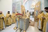 В день тезоименитства епископ Корсунский Нестор совершил  Божественную литургию в Троицком кафедральном соборе