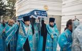 В канун праздника Успения Пресвятой Богородицы епископ Корсунский Нестор совершил всенощное бдение в Троицком кафедральном соборе Парижа