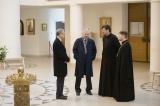Состоялась встреча посла России во Франции Алексея Мешкова с епископом Корсунским Нестором